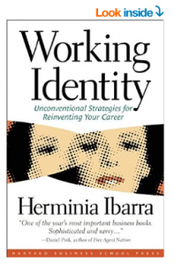 Book cover for Working Identity by Herminia Ibarra