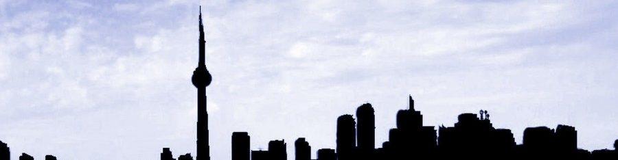 skyline of Toronto, Ontario Canada